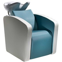 Salon Ambience Sublime Wash Unit - with Massage, White Basin