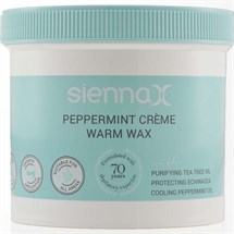 Sienna X Peppermint Crème Warm Wax 450g