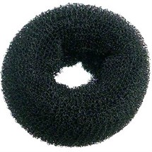 Hair Tools Hair Bun Round - Dark (Black)