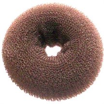 Hair Tools Hair Bun Round - Medium (Brown)