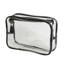 Sinelco Sibel Clear Zipped Pouch