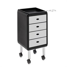 Luca Rossini Re Trolley Light Grey Drawers