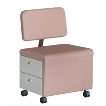 Medical & Beauty Wallie Manicure Trolley + Backrest