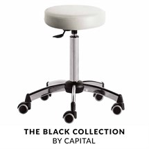 Capital Bianca Stool - White