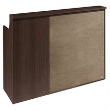 Salon Ambience Impact Wenge Reception Desk