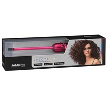 BaByliss PRO Spectrum 10mm Thin Ceramic Wand - Hot Pink
