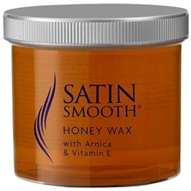 Satin Smooth Honey Wax - Arnica/Vitamin E 450g