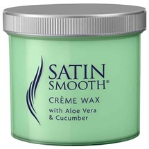 Satin Smooth Creme Wax - Aloe Vera/Cucumber 450g