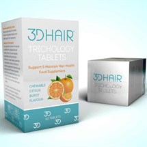 3D Hair Trichology Tablets 60pk