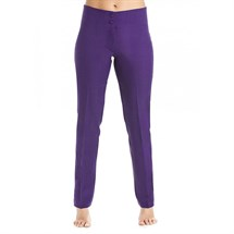 Gear Straight Leg Purple Trousers - Size 8