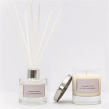 Monuskin Grapefuit & Lemongrass Candle and Diffuser