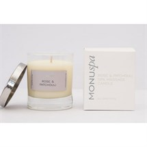 Monuskin Relax Rose and Patchouli Spa Massage Candle