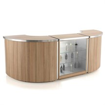 REM Helix Reception Desk - (A) Helix Straight (05541)