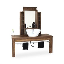 REM Montana Barbers Unit With Backwash Basin