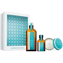 Moroccan Oil Home & Away Kit - White