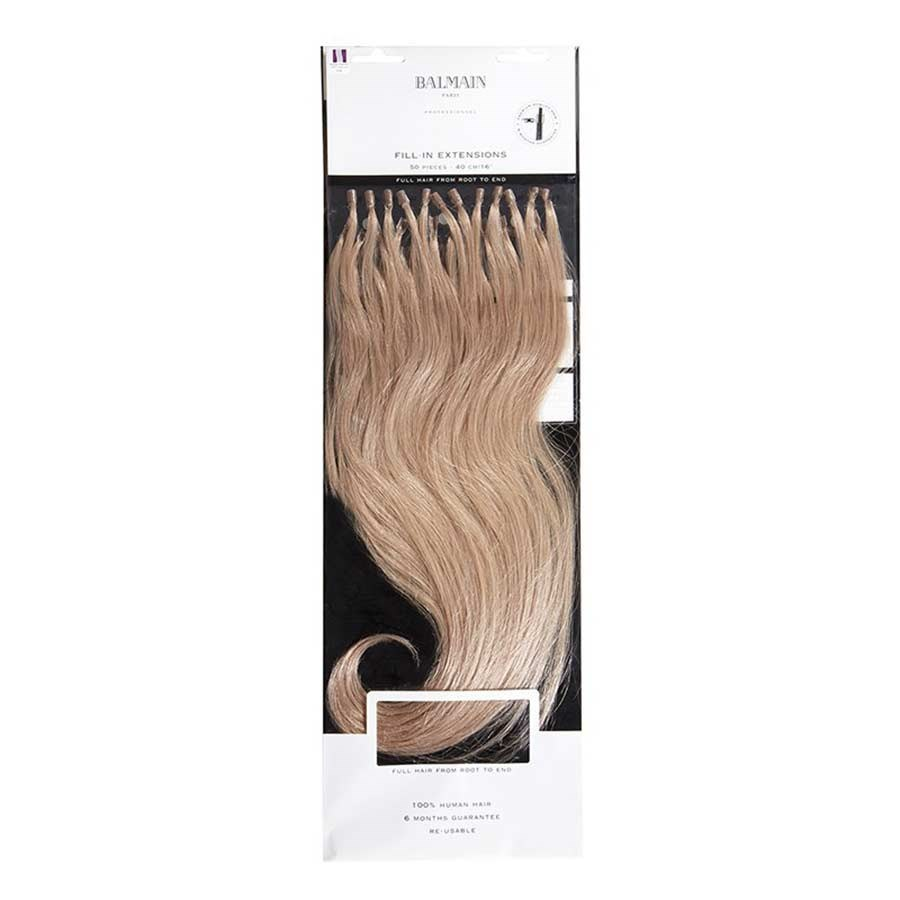 Balmain Fill In Extensions Natural Straight Hair 40cm 50pcs Human
