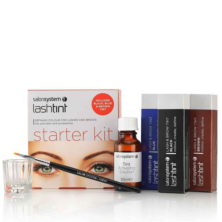 Salon System Eyelash Dye Starter Kit 15ml | Eyelash Tinting ...