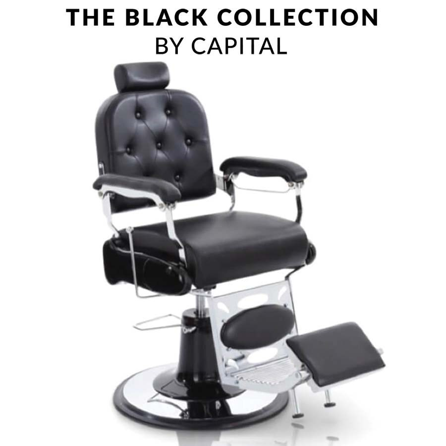 Amazing Capital Ascot Barber Chair Gmtry Best Dining Table And Chair Ideas Images Gmtryco
