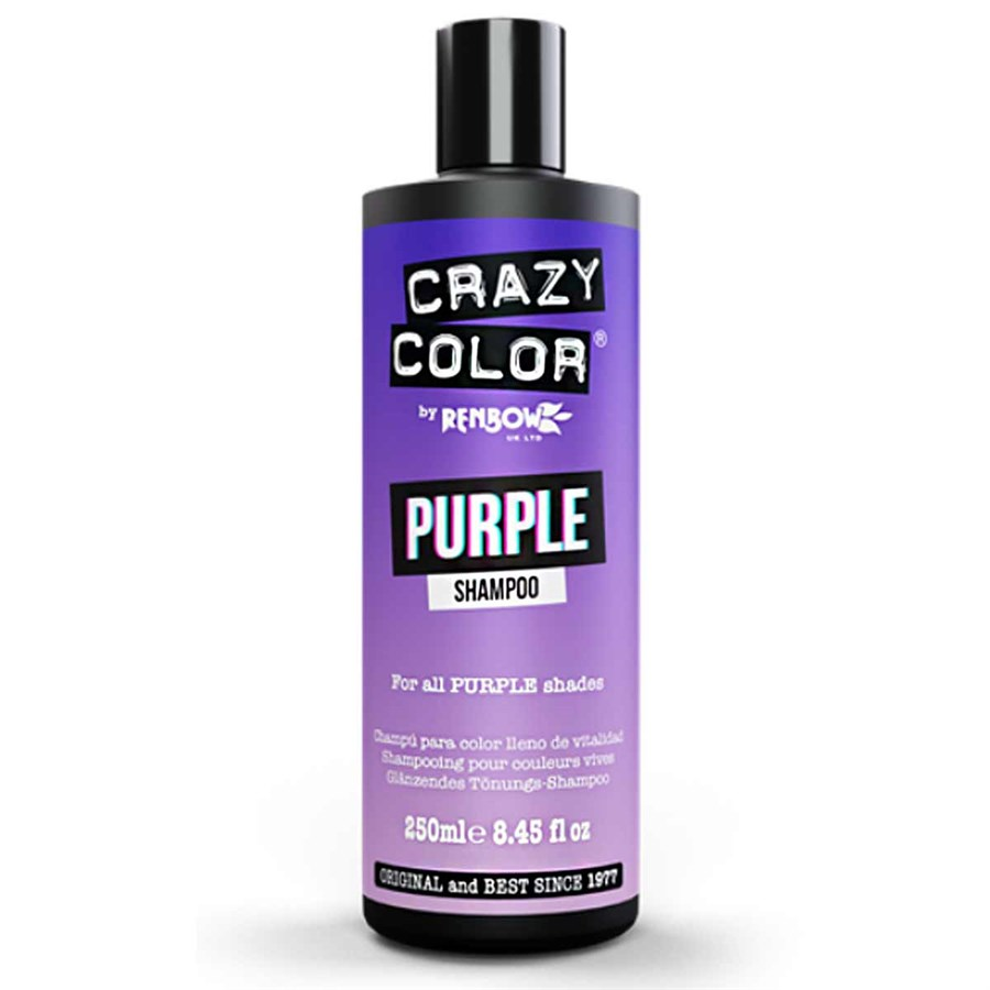 Crazy Color Shampoo 250ml - Purple