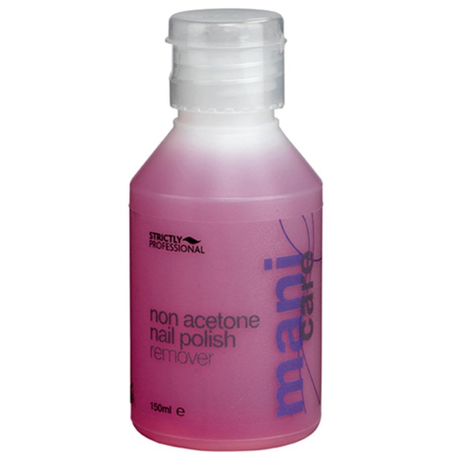 Strictly Professional Non Acetone Nail Polish Remover 150ml Polish Removers Capital Hair Beauty