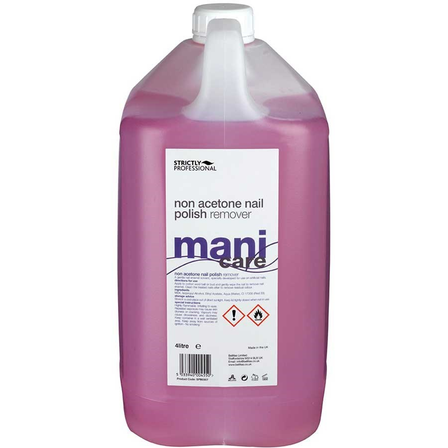 Strictly Professional Non Acetone Nail Polish Remover 4 Litre ...