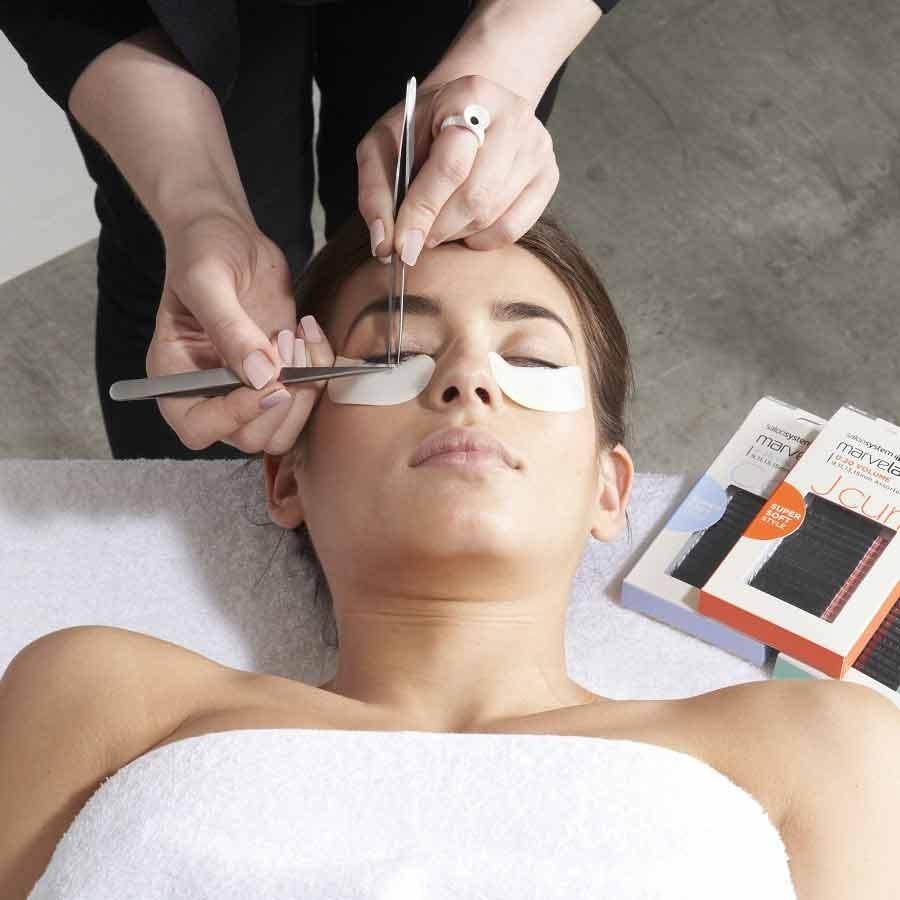 Marvelash Semi Permanent Eyelash Extension Course Eyebrow Lash