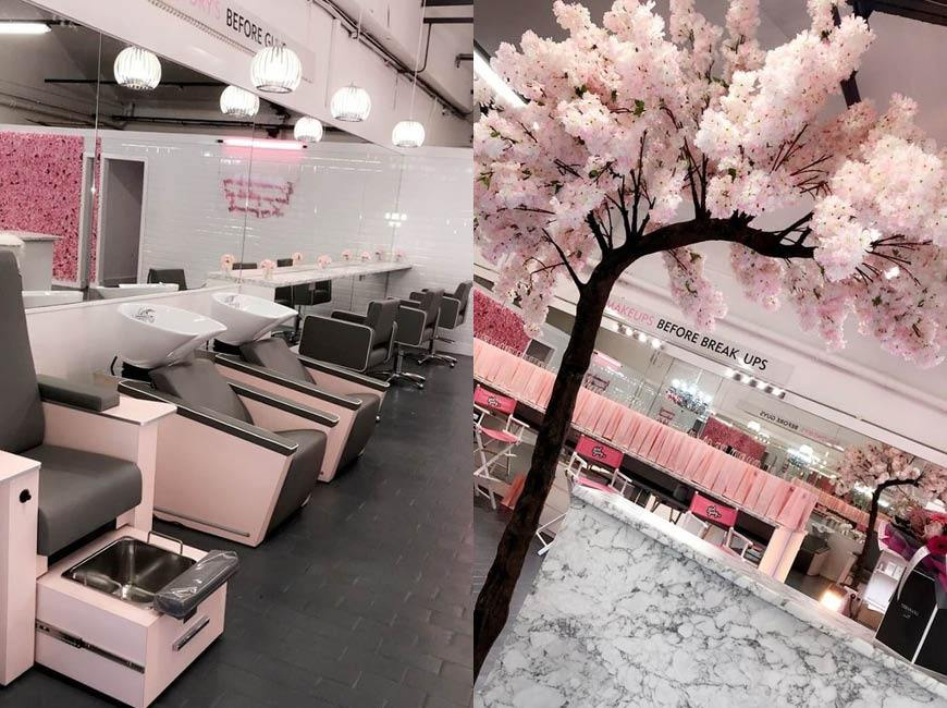 Girl Gang - Liverpool's latest salon looking pretty in pink